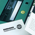 Range of Brochures__Bombardier__ Part of a global rail transport construction business, Bombardier's UK operation builds trains for both the UK and Europe. These product brochures are just two from a suite that we have designed for them. And all delivered punctually, of course…