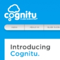 Website__Cognitu__ Naming, branding and launch package for an amazing new web-to-print service which allows users to update artwork and re-order print entirely on-line – or in the cloud, if you will.